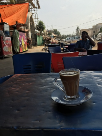 A chai shop. My favorite place to make new friends and just relax.